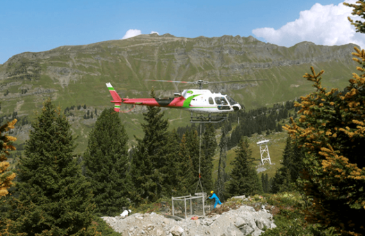 Levage helicoptere et Heliportage Blugeon